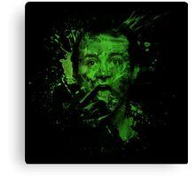 Splatter Venkman Canvas Print