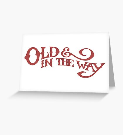 Old & In The Way - Jerry Garcia Greeting Card