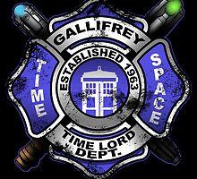 Gallifrey Firehouse by claygrahamart