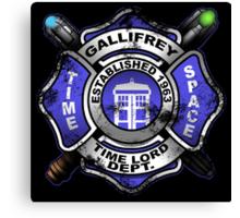 Gallifrey Firehouse Canvas Print