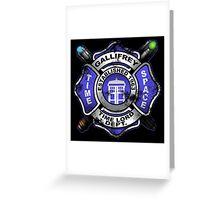 Gallifrey Firehouse Greeting Card