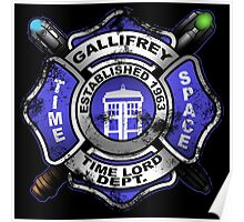 Gallifrey Firehouse Poster