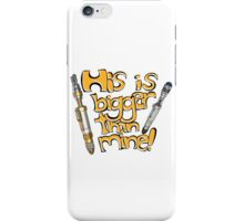 Doctor Who and This Awesome Innuendo iPhone Case/Skin