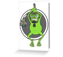The Buzzing Dead Greeting Card