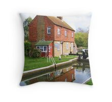Stoke Lock , Guildford Throw Pillow