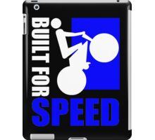 BUILT FOR SPEED-76 iPad Case/Skin