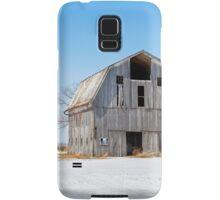 Snowy Farm Scene Samsung Galaxy Case/Skin