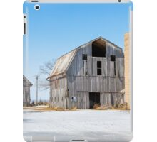 Snowy Farm Scene iPad Case/Skin