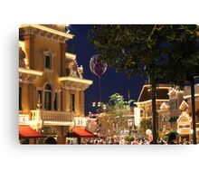 Disneyland Ballon on Main Street Canvas Print