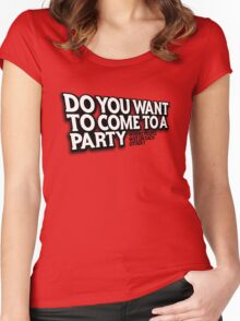 Party Women's Fitted Scoop T-Shirt