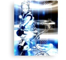 Sci Fi Robot Girl, Futuristic Beauty! Canvas Print