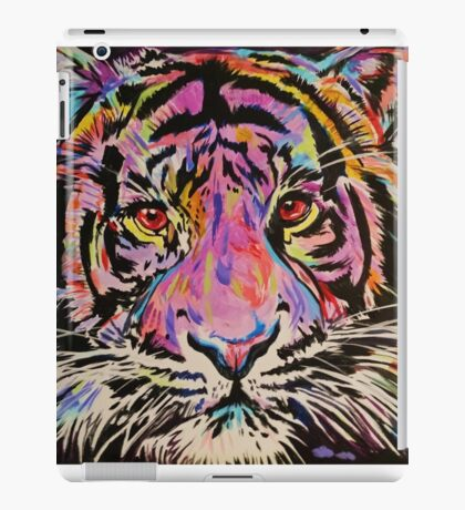 Pop Art Tiger Eyes iPad Case/Skin