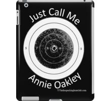 Annie get your gun iPad Case/Skin