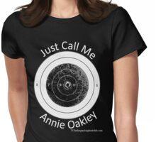 Annie get your gun Womens Fitted T-Shirt