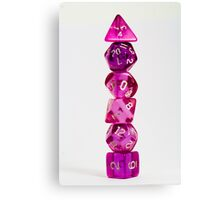 Dice tower Canvas Print
