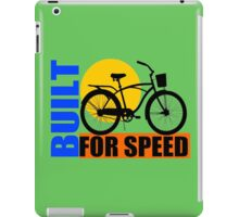 BUILT FOR SPEED-77 iPad Case/Skin