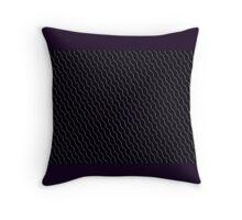 DEEP PURPLE MOD DESIGN Throw Pillow