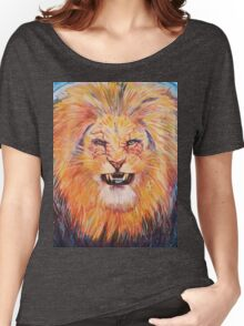 Mr Snarly Lion  Women's Relaxed Fit T-Shirt