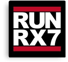 RUN RX7 Canvas Print