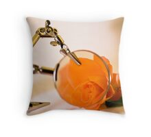 Looking for romance Throw Pillow