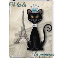 Oo-la-la, the French Princess Kitty iPad Case/Skin