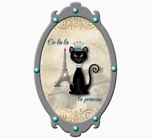 Oo-la-la, the French Princess Kitty T-Shirt