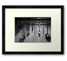 Cuisinery Framed Print