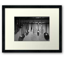Cuisinery Framed Print