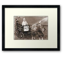 My Daddy at Age 1 Framed Print