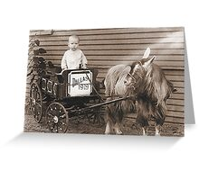 My Daddy at Age 1 Greeting Card