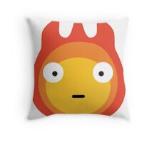Howls moving castle - Calcifer - May all your bacon burn. Throw Pillow