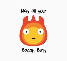 Howls moving castle - Calcifer - May all your bacon burn. T-Shirt