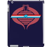 G.I. Cobra Logo iPad Case/Skin