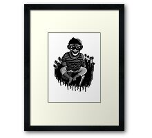 Monkeys ... always up to no good ... Framed Print
