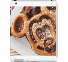 MICKEY shaped waffles  iPad Case/Skin