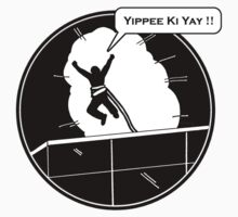 Yippee Ki Yay - with speech bubble Kids Tee