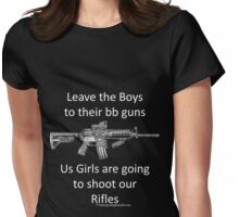 bb guns Womens Fitted T-Shirt