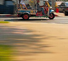 Faster Than a Speeding Tuk Tuk by Mike Stone
