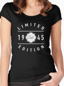 1945 Limited Edition Women's Fitted Scoop T-Shirt