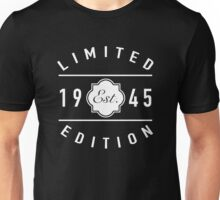 1945 Limited Edition Unisex T-Shirt