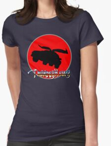 ThunderHawk Ho! Womens Fitted T-Shirt