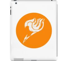 Fairy Tail Segmented Logo (Guild Hall) circle  iPad Case/Skin