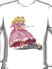 super smash bros Peach Wii u/3ds T-Shirt
