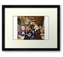 Lolita Princesses Framed Print