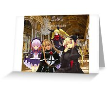 Lolita Princesses Greeting Card