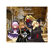 Lolita Princesses Photographic Print