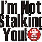 I'm not Stalking You by Wislander