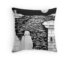 Castle Dreams Throw Pillow