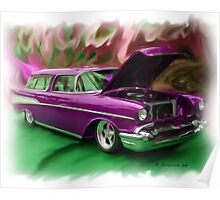 57' Chevy Nomad Poster