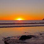 California Sunset - Coronado Island - Stephen Laycock 2009 by Stephen Laycock